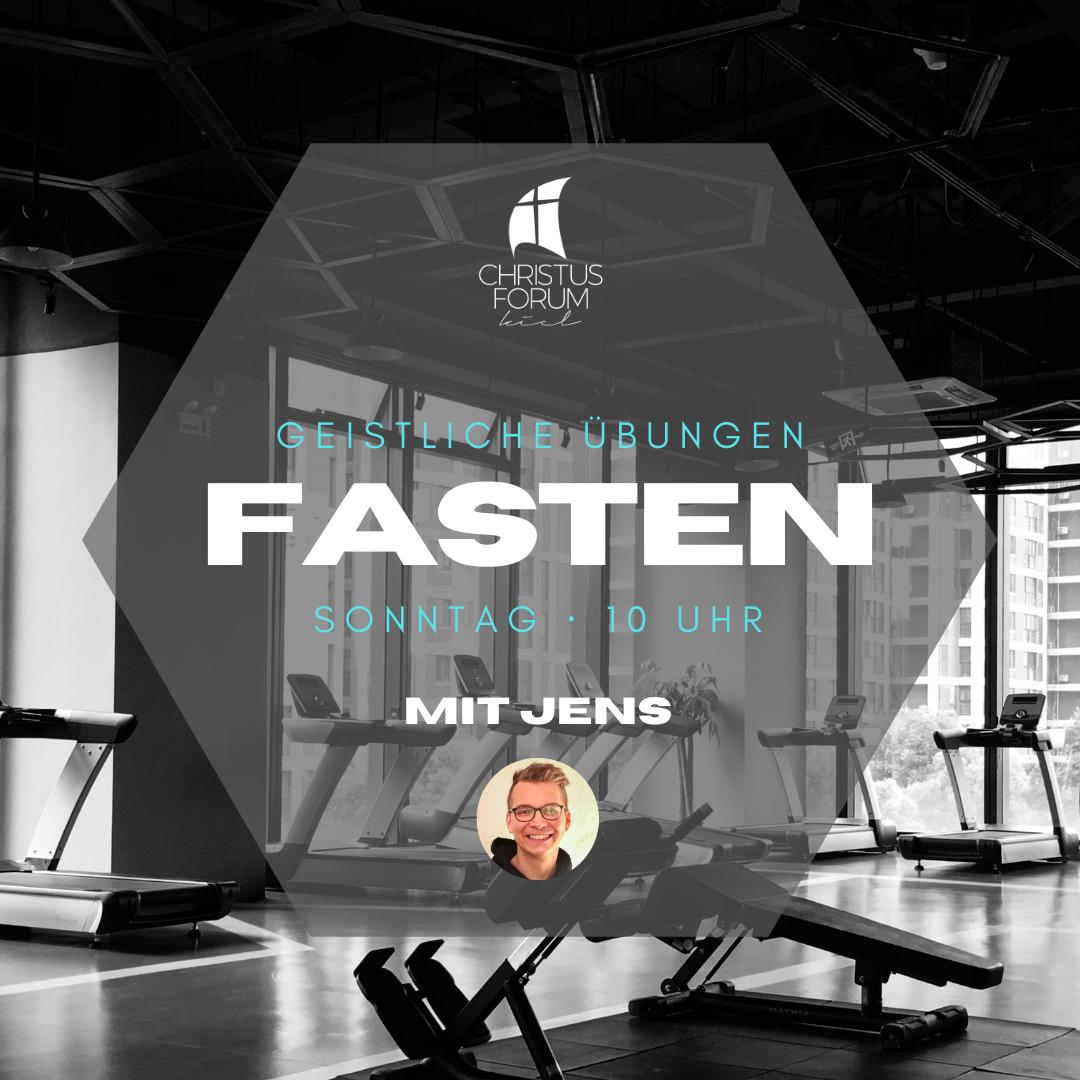 Predigt zum Thema Fasten von Jens Fuhr