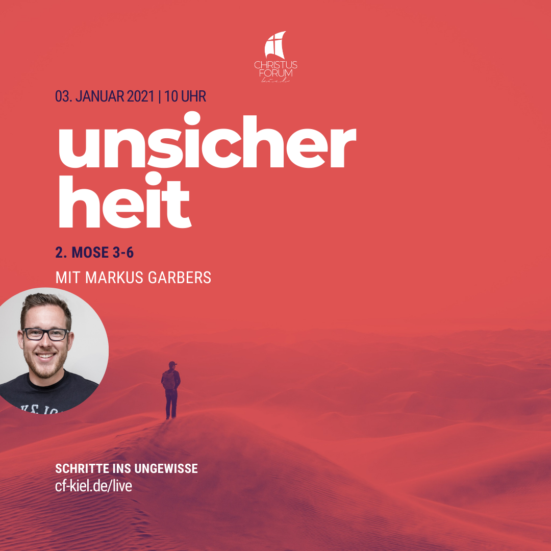 """Predigt von Markus zu """"Unsicherheit"""""""